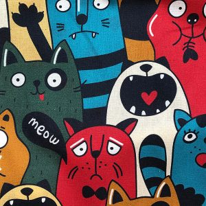Bienenwachs-Tücher 2er Set Edition Cats & Skulls